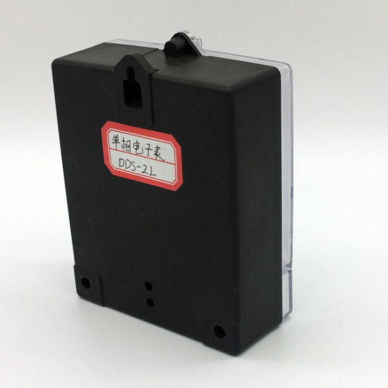 Dds-2L Series Single Phase Electronic Energy Meter pictures & photos