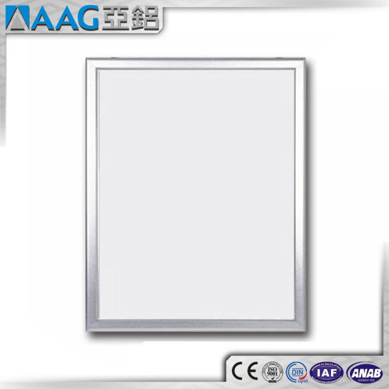 Aluminum Picture Frame /Picture Frame Aluminium Extrusion Profile for Display Photos, Advertising Stand pictures & photos