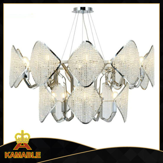 Home Modern Crystal Beads Decorative Lamp