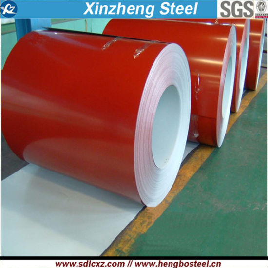 Steel Products BV Approved Hot DIP PPGI Galvanized Prepainted Steel
