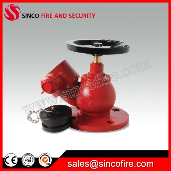 Flange Type Oblique Angle Fire Hydrant Landing Valve