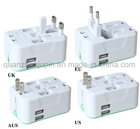 OEM Universal Travel USB Charger Power Adapter for All Countries