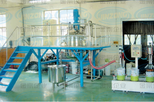 Water-Based and Solvent-Based Paint Production Equipment/Line