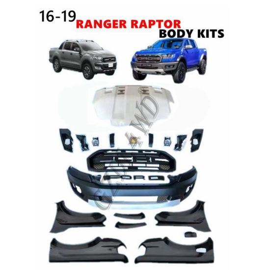 2016 Ford Ranger to Raptor Conversion to 2018 Wide Body Kit