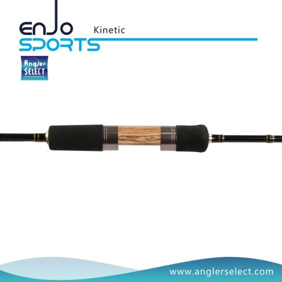 Kinetic 2-4 Sections Light Weight Carbon Fiber Fly Rods with FUJI Sic Guides pictures & photos
