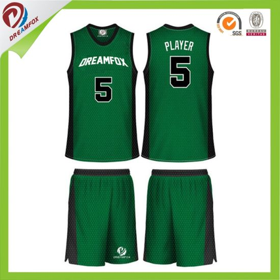 Custom Grenn Women Basketball Jersey Design Philippines pictures & photos