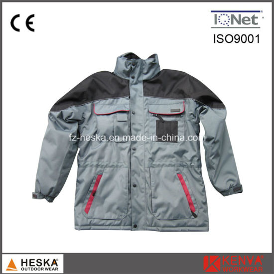 Breathable Padding Parka Winter Work Jacket pictures & photos