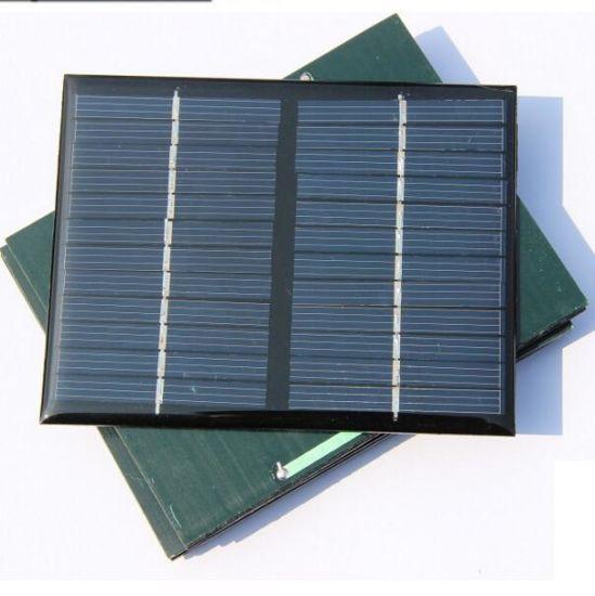12V 1 5W Standard Epoxy Solar Panels Mini Solar Cells Polycrystalline  Silicon DIY Battery Power Charge Module