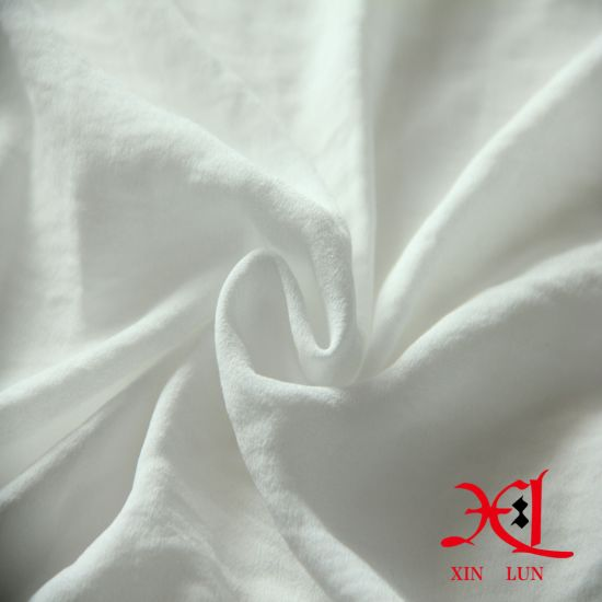 310t White Chiffon Silk Fabric for Hijab/Scarf/Garment pictures & photos