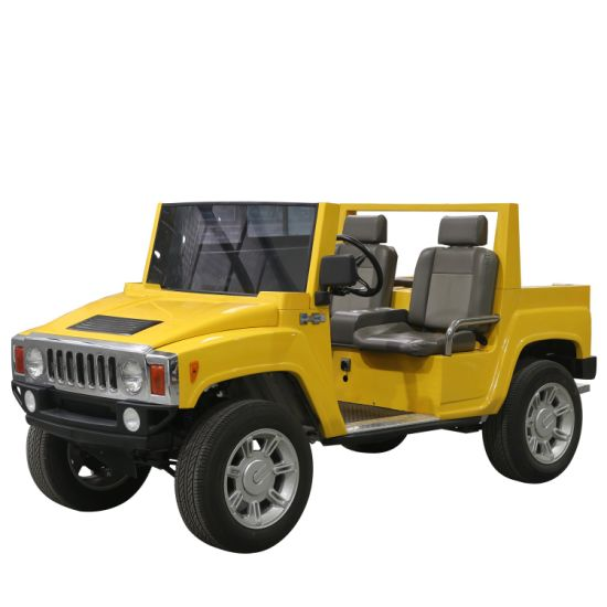 4.5kw Electric Hummer Golf Car Good Quality SUV Jeep