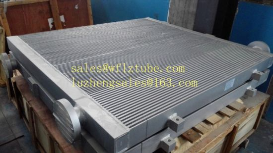 China Shandong Aluminum Fin Tube Radiator for Cooling Oil or Air, Truck Radiator