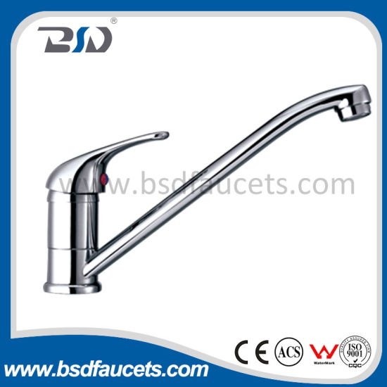 One Handle Hot Cold Water Novelty Brass Kitchen Sink Faucet pictures & photos