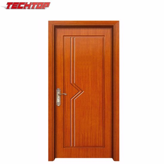 China Tpw 059 Wholesale Interior Mdf Pvc Doors Price With Oak Color