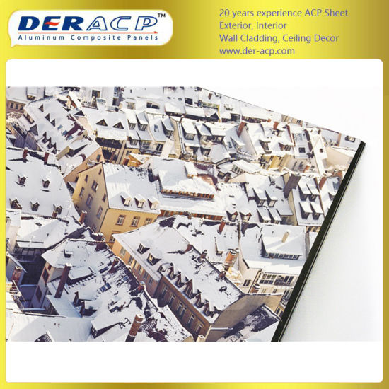 5mm/0.3mm Digital Printing Aluminum Composite Panel Used in Screen Sheet