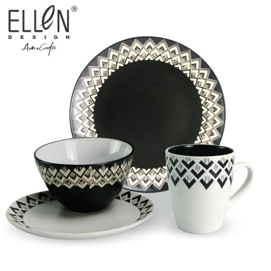 Promotional Victory Design Tableware Ceramic Dinner Sets