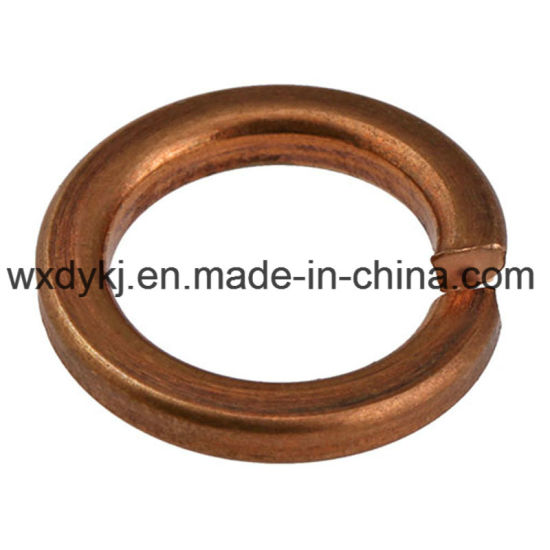 DIN127 Standard Brass Spring Washer