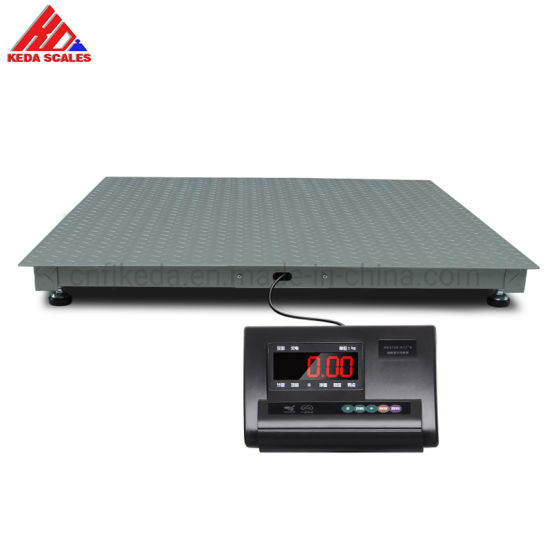 Floor Platform Scales Warehouse Weighing Floor Scale for Packing