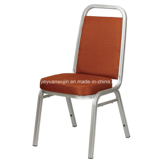 china molded seat hotel restaurant stackable steel dining chairs jy