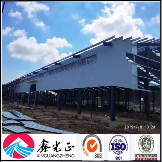 Low Cost Steel Structure Construction Workshop (CH-09)