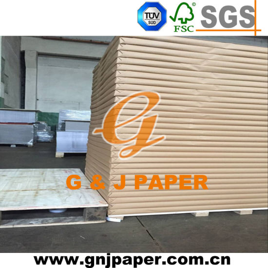 250g One Side Coated Duplex Board Paper with Grey Back pictures & photos