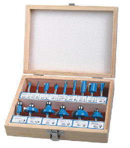 Popular Set B by 15PCS Tct Router Bit for Woodworking