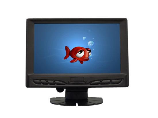 Touch Monitor 7 Inch with AV, VGA, HDMI, DC 12V Input