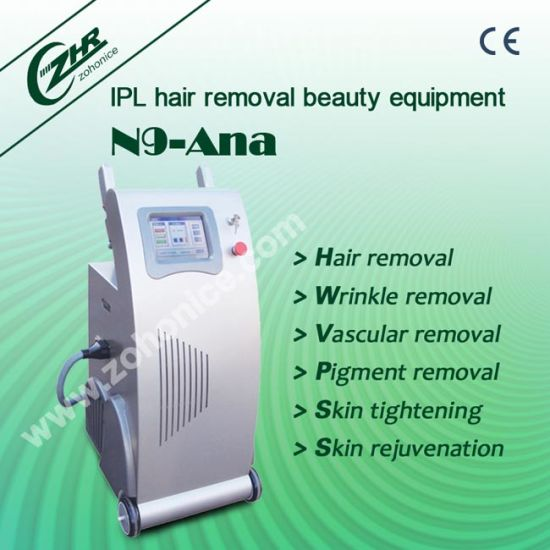 N9 IPL Hair Remove Wrinkle Removal Beauty Equipment with CE pictures & photos