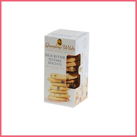 China Custom Printed Paper Biscuit Cookie Box Packaging Manufacturer Supplier Factory
