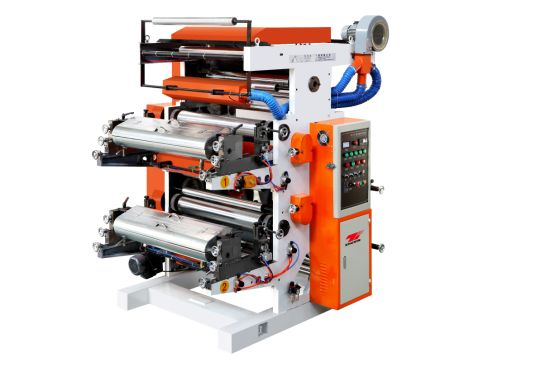 Zhuxin Electrical Two Color High Speed Flexo Printing Machine