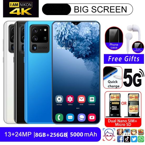 Smart Phone S20 Ultra Cross-Border Phone, Mobilephone, Manufacturers Direct Selling