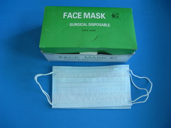 3 Nonwoven Ply Surgical Face Mask Factory China - Sale