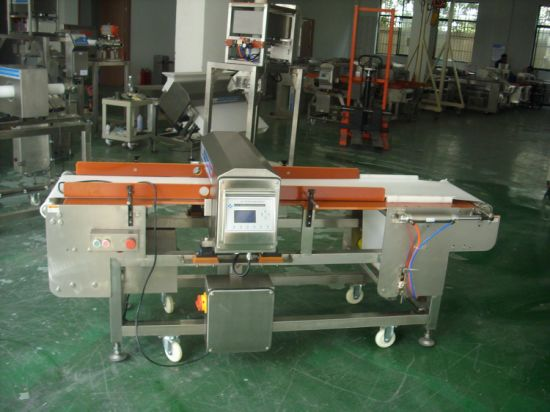 Metal Detector 9008 with Belt Retraction, for Cookie, Biscuit, Bread, Cake Product Inspection pictures & photos