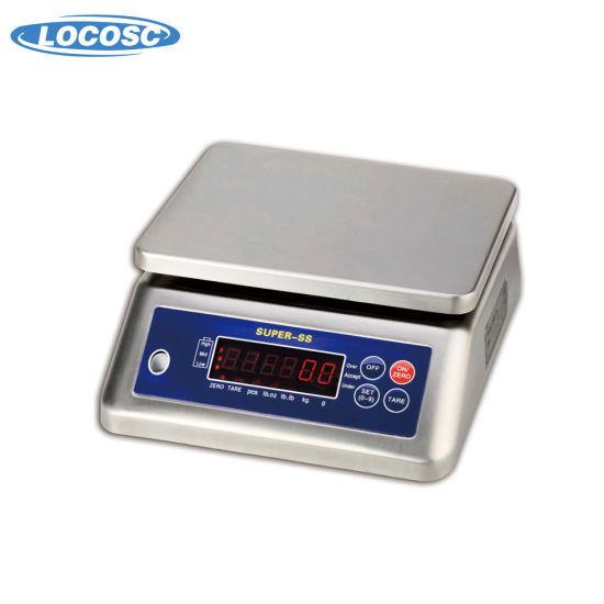 Waterproof Electronic Dual Display Weighing Scale