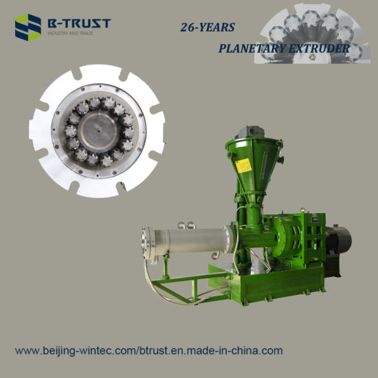 China Btrust Planetary Extruder for 5 Roll Calendering Line