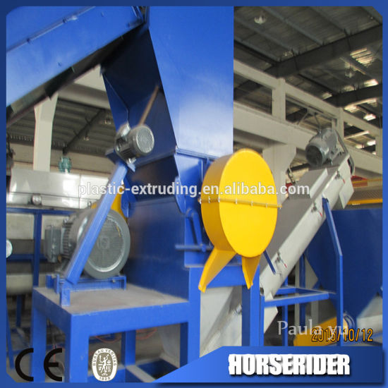 High Recovery Rate PE PP Plastic Film Wash Line
