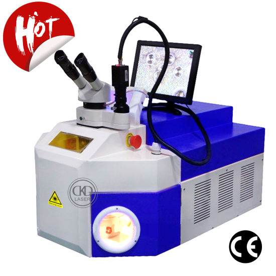 100W CCD Portable Jewelry Sport Laser Welding Machine for Gold Silver Alloy Metal