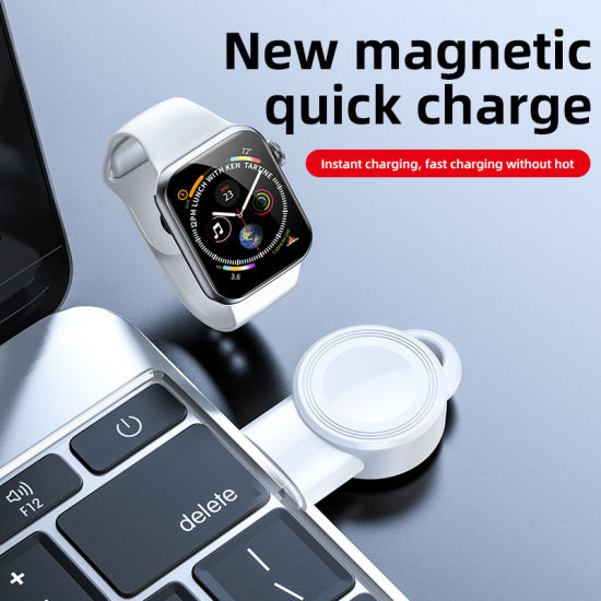 Mini Pad Charging Wireless Charger for Apple Watch 1/2/3/4/5 Series