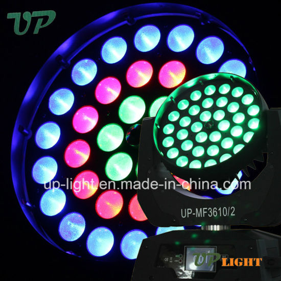 36PCS*10W 4in1 Aura Disco LED Moving Head