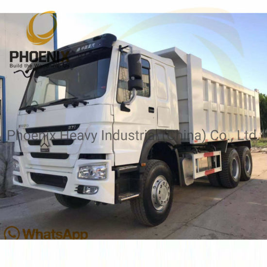 Best Condition Used Sinotruck HOWO 10 Tires Tipper Low Price Dump Truck