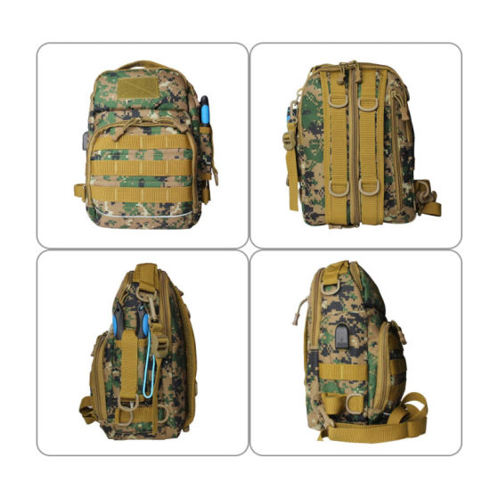 Fishing Tackle Backpack Outdoor Fishing Tackle Storage Gear Bag with Rod Holder, Single to Double Shoulder for Trout Fishing Outdoor Sports Camping Hiking