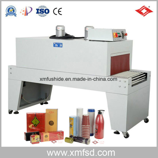 Full Automatic POF Film Heat Hot Sealer Sealing Shrink Shrinkable Shrinker Shrinking Wrap Wrapper Wrapping Packing Package Packaging Tunnel Machine RS-6225p