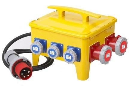 IP66 Watertight 24 Modules Socket Box/Distribution Box/ Power Box
