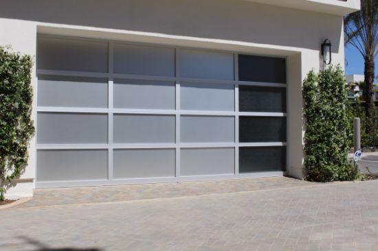 Wholesale Custom Size Fiberglass Retractable Aluminium Electric Garage Door