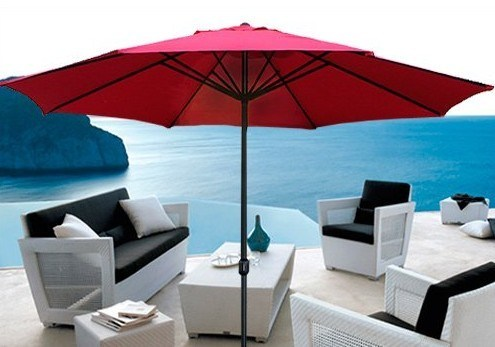 10 Feet Outside Market Middle Pole Garden Umbrella on Sale - China Garden  Umbrella, Outdoor Umbrella   Made-in-China.com