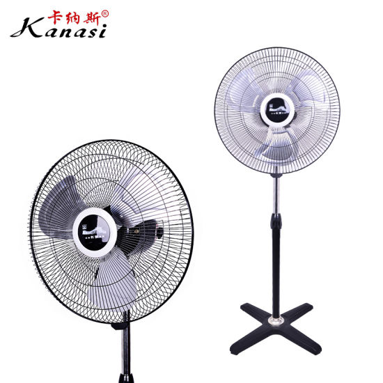 Home Household Industrial Electric Stand up Round Base Pedestal Fan