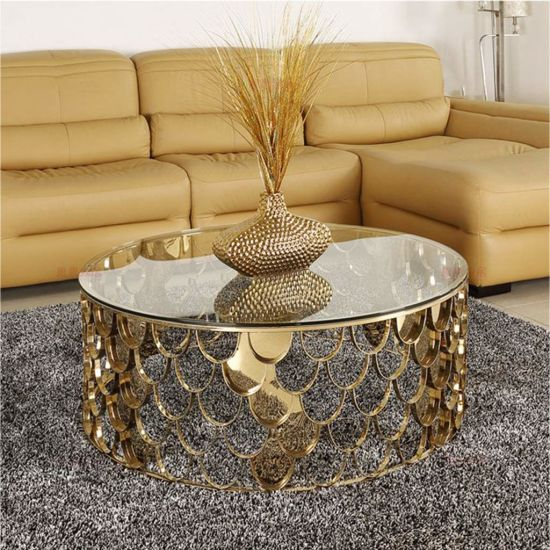 China Round Coffee Table Sofa End