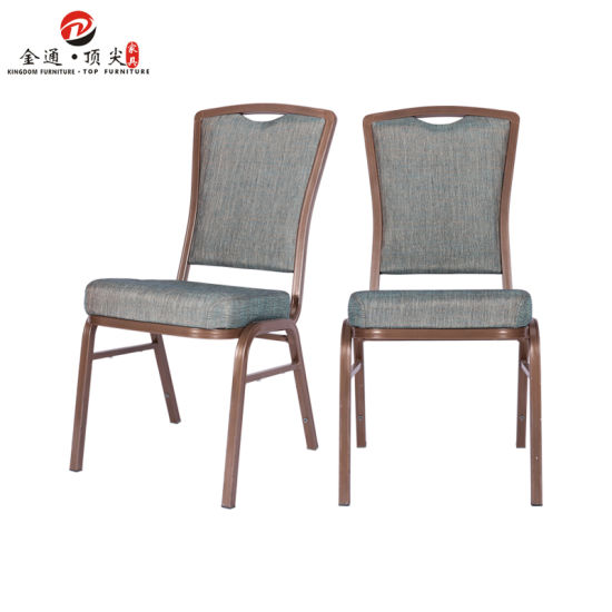 Hotel Meeting Furniture Wholesale Modern Grey Metal Steel Stackable Conference Room Chairs