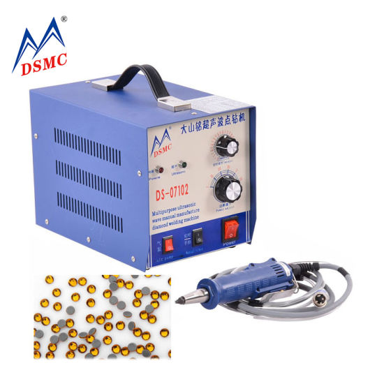 Japan Portable Strass Stone Applicator Ultrasonic Hot Fix Rhinestone Setting Machine