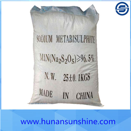 Supply CAS No. 7681-57-4 Sodium Metabisulfite for Industrial Grade pictures & photos