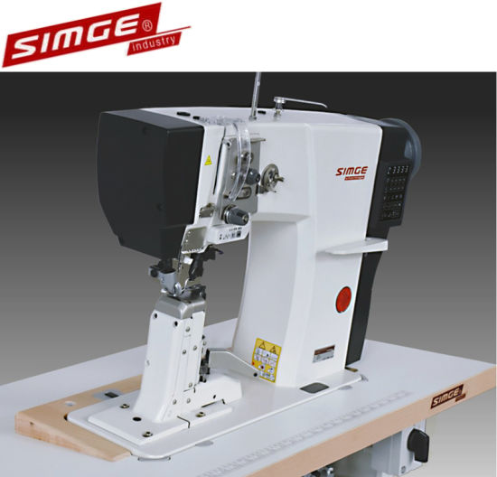 S3 Fully Auto Special Post Bed Sewing Machine with Trimming Function